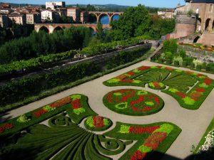 Albi : les jardins de la Berbie